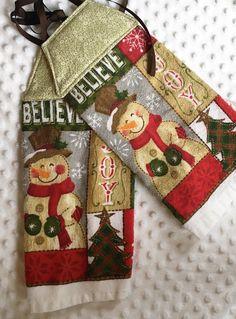 High Quality Christmas Hanging Towel, Tie Kithen Towel, Tie Hanging Towel, Dish Towel, Tea  Towel, Kitchen Towel, Hanging Dish Towel, Snowman