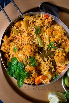 A close cousin of biryani or pulao, this one pot rice based dish with wonderful aromatic spices from the Awadhi cuisine makes a wonderful lunch or dinner recipe.