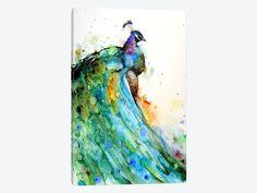 """Pheasant by Dean Crouser Canvas Print 18"""" L x 26"""" H x 0.75"""" D"""
