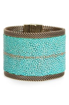 Cynthia Desser Genuine Stingray Skin Bracelet available at #Nordstrom