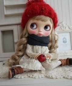 *** Custom Blythe ** Fluffy Braid ***  Buy her here:   #blythe #blythedolls #kawaii #cute #rinkya #japan #collectibles #neoblythe #customblythe