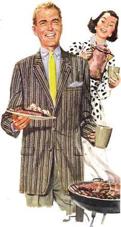 Vintage 1956 Men's Clothing Advertisement by mysweetiepiepie, via Flickr