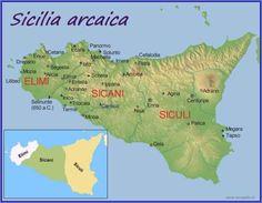 Le origini dei popoli della Sicilia I reperti più antichi confermano la presenza di identità etniche appartenenti a tre diversi gruppi: elimi, di supposta origine dell'Asia Minore. I  sicani e siculi di origine indoeuropea. Secondo i d #sicani #sicilia #siculi #elimi
