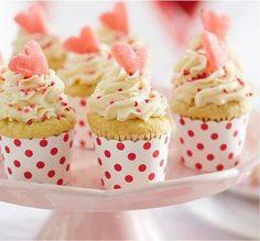Cupcakes de la St-Valentin
