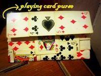 Playing Card Purse tutorial