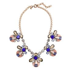 Love this new J. Crew statement necklace. Pair it with a  navy striped tee and you've got an adorable outfit