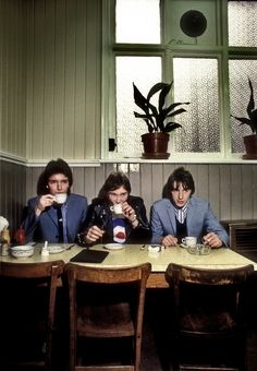 The Jam at Frank's Cafe Beak St 1978 by Martyn Goddard, part of The Jam: About the Young Idea at Somerset House. Photograph: Somerset House