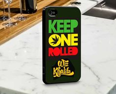 Keep One Rolled Wiz Khalifa for iPhone and Samsung by mulailagi