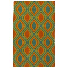 LNR Home Vibrance Abstract Blue Area Rug (8' x 10')   Overstock.com Shopping - The Best Deals on 7x9 - 10x14 Rugs