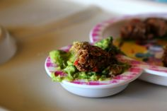 3 Ladies and Their Gent: We EAT | Black Bean Cakes & Guacamole