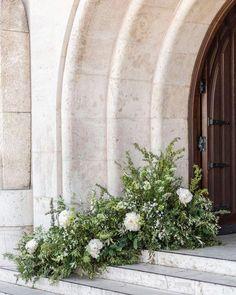 Wedding Reception Flowers, Floral Wedding, Wedding Ceremony, Elegant Wedding, Church Flowers, Aisle Flowers, Ceremony Decorations, Church Wedding Decorations Aisle, Church Weddings