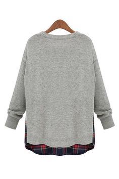 6cf487c6f Goodnight Macaroon Gray Sweater Review Olivia Palermo Grey Sweater