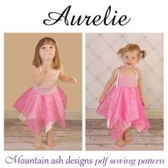 Aurelie Fairy Dress and Fairy Skirt | Sewing Pattern | YouCanMakeThis.com