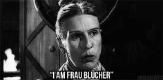Cloris Leachman as Frau Bleuker | frau blucher | Tumblr