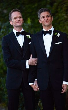 Neil Patrick Harris, David Burtka, Wedding