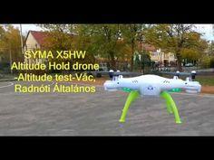 SYMA X5HW Altitude Hold drone - Altitude test at Vác