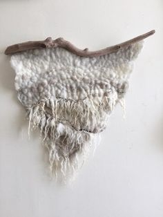 Wool wall hanging | Meghan Purcell