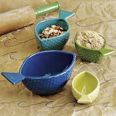 Fish Measuring Cups . so cute!