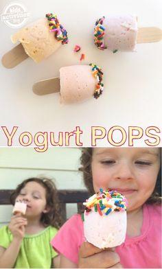 DIY Yogurt Pops - Th