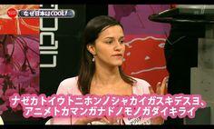 Gaijin Interviewed on TV Speaks in Fluent Katakana