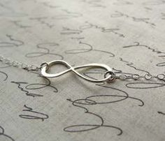 Silver Infinity Bracelet                                                        Feel infinitely beautiful with this bracelet on your wrist. #silver #infinity #bracelet