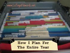 Homeschool Planning 101: Weekly/Yearly Lesson Plans | LaToyaEdwards.net