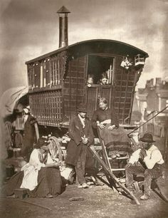 """Exhibition: 'Victorian London in Photographs 1839 to 1901' at the London Metropolitan Archives. """"This is a fascinating exhibition about the history of London portrayed through Victorian era photographs."""" http://artblart.com/2015/10/04/exhibition-victorian-london-in-photographs-1839-to-1901-at-the-london-metropolitan-archives/ Photo: John Thomson. 'London Nomades' 1877"""