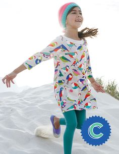 Letter C. Jersey Printed Tunic 31802 Tops at Boden Cute Boy Outfits, Kids Outfits, Baby Girl Fashion, Kids Fashion, Boden Clothing, Handmade Baby Clothes, Mini Boden, Kid Styles, How To Wear