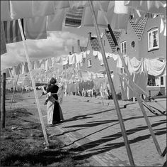 Volendams wasje. Laundry Day.