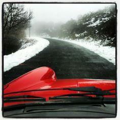 De paseo por la nieve....