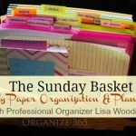 The Sunday Basket - all four weeks *LOVE THIS IDEA*