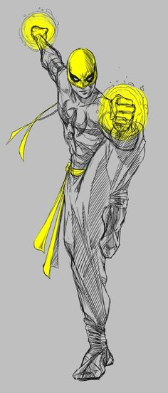 Iron Fist sketch - Visit to grab an amazing super hero shirt now on sale! Marvel Comics, Marvel Art, Marvel Heroes, Iron Fist Comic, Iron Fist Marvel, Comic Books Art, Comic Art, Marvel Comic Universe, Arte Horror