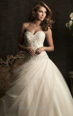 If I wore a ball gown, it would probably look something like this!
