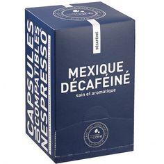 Capsules de café Mexique décaféiné - Terres de café - Etre Gourmand