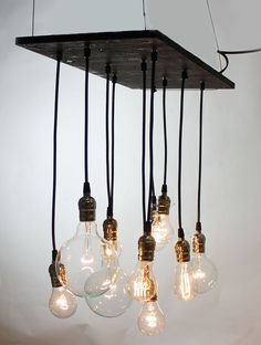 Small Urban Chandelier by urbanchandy on Etsy, $475.00