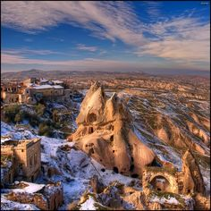 HDR at its best - not too much, not too little, just right. Cappadocia by Quim Granell, via 500px