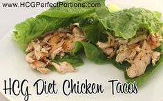 Taco night is still a possibility on HCG Phase 2 with this yummy grilled chicken taco recipe!