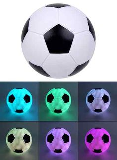"LED-lamp ""Beste Voetballer"" Soccer Room Decor, Soccer Bedroom, Diy Toy Storage, Vintage Lamps, Kid Spaces, New Room, House Rooms, Dream Bedroom, Soccer Ball"