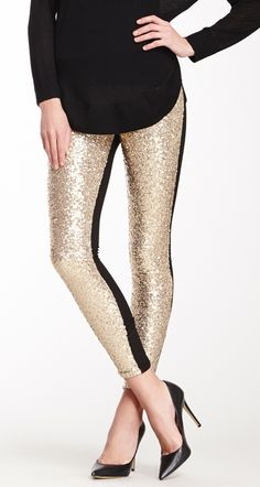 Glitter leggings... seems fun for special occasions
