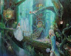 Fantasy in my mind - acrylic on canvas