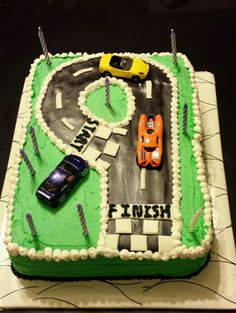 Cars Birthday Cake For 9 Year Old Boys Bday Cakes