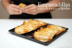 Empanadillas (rápidas, con masa comprada y relleno al gusto)