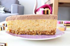 Pumpkin chocolate layer cake for Halloween || Baking with Gab || Delicake