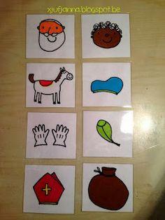 Sorteren: Wat hoort bij Sint? Wat hoort bij Piet? (prenten uit dopido) Activities For Kids, Crafts For Kids, Saint Nicolas, Little Ones, December, Holiday Decor, Winter, Diy, Preschool