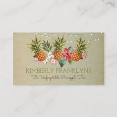 LOVELYWOW studio: products on Zazzle Vintage Business Cards, Gold Business Card, Elegant Business Cards, Custom Business Cards, Business Card Size, Watercolor Business Cards, Hawaii Style, Harvest Decorations, Wedding Website