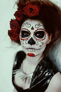 sugar+skull+costume | Day of the Dead Sugar Skull Makeup