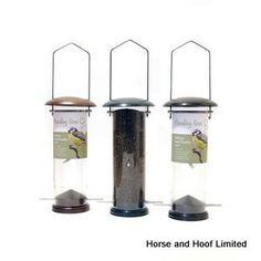 Rosewood Deluxe Nyjer Seed Feeder For Wild Birds - Small Our Deluxe range continues with a Deluxe Fat Ball Feeder…