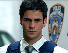 Detective Don Flack from 'CSI: NY'. Who said all my imaginary lovers had to be real people?