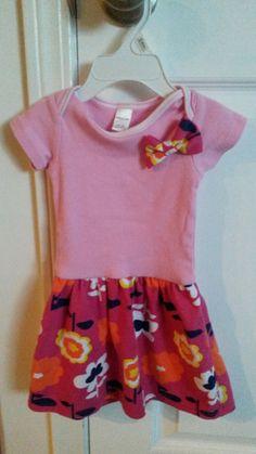 Hoyachic Designs: DIY Como hacer un vestido de niña facilmente.