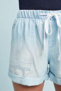 Slide View: 2: Chambray Shorts